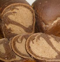 Sliced Marble Bread